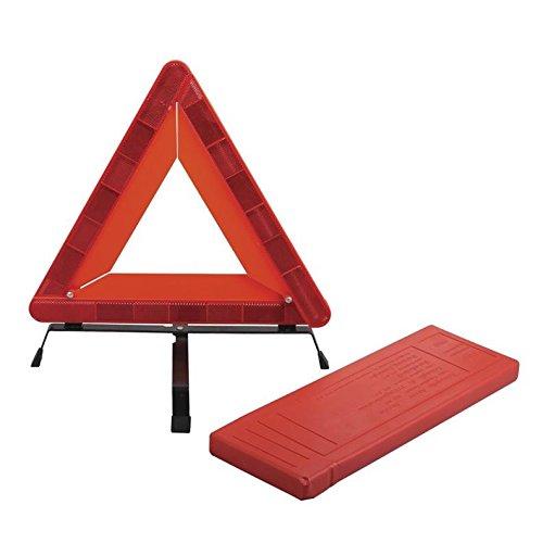 Warndreieck Notfall Warnsingnaldreieck mit Reflektoren Sicherheit Warnzeichen