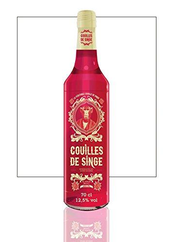 COUILLES DE SINGE - Boissons festives - 700 ml - 12,5% vol.