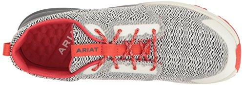 Ariat Sneaker Damen Fuse Grey Snake salt + pepper