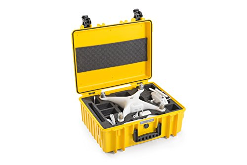 Bargain B&W outdoor.cases type 6000 with DJI Phantom 4 Pro / 4 Pro+ / 4 Advanced Inlay – The Original **Limited Edition*** Online