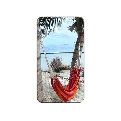 Tropical Beach Hamac–Palm Trees Océan en métal revers Bonnet pour homme sac à main sac de broches de Pinback