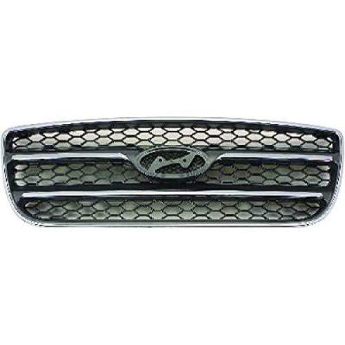 PIECES AUTO SERVICES Grille de calandre Chrome Noir Hyundai Santa Fé 2 (CM) de 06 à 09 - OEM : 86560-2B020