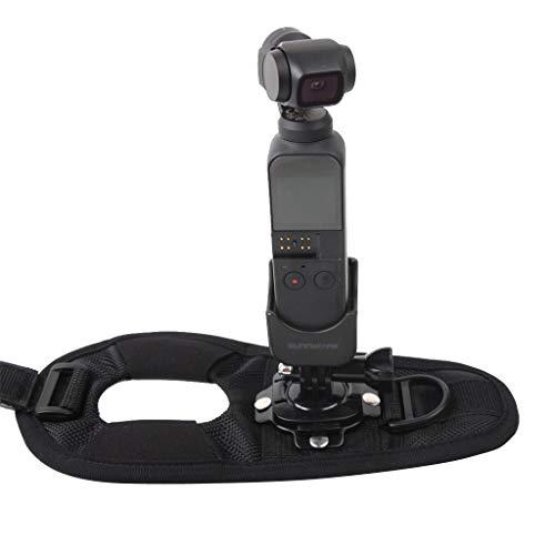 prevently Kamera Adapter Handschlaufe, Pocket Kamera Adapter für DJI OSMO Pocket / GOPRO (Drohne Hubschrauber Für Go Pro)
