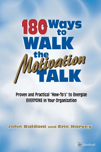 Book cover image for 180 Ways to Walk The Motivation Talk
