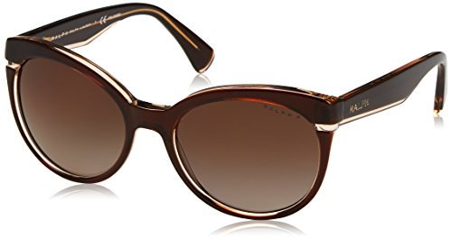 Ralph Lauren Ralph by Damen 0RA5238 1697T5 55 Sonnenbrille, Brown Beige/Browngradientpolarized,