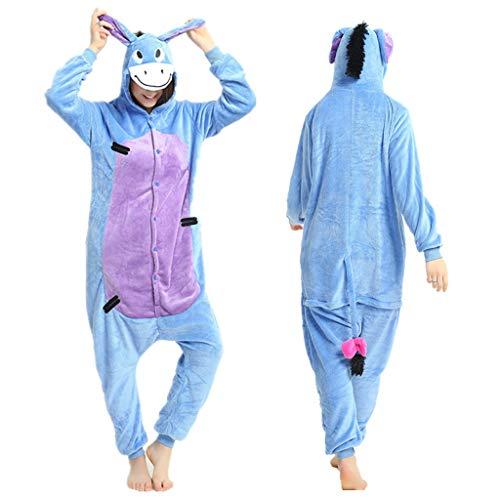 Higuo Nachthemd große Pyjamas siamesische Lange Abschnitt mit Kapuze Nachthemd schöne Trainingsanzug Bademantel (Farbe : Buttercup, größe : XL)