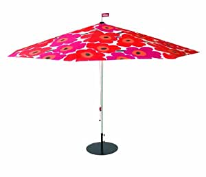 fatboy 9005001 parasol with marimekko unikko poppy red. Black Bedroom Furniture Sets. Home Design Ideas