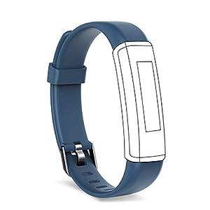 Shinmax Fitness Tracker, Monitor de Ritmo cardíaco Inteligente IP67 Mujeres Hombres Correa Pulsera Inteligente 10