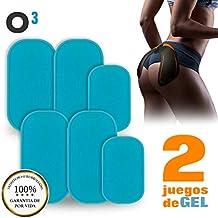 O³ EMS Gel Hojas-EMS Gel Pad para Electroestimulador Gluteos