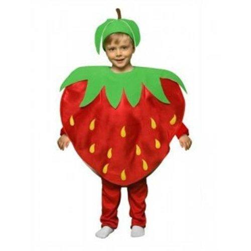 Imagen de disfraz niño fresa  talla 3  4 años