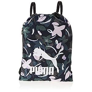 Puma 74812, Sports Bag Unisex – Adulto, Black-Floral Print, OSFA