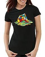 style3 Sheldon Zauberwürfel Damen T-Shirt