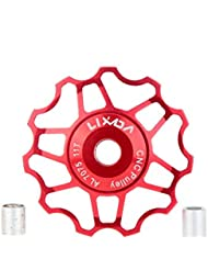 Lixada Jockey Wheel Cambio Trasero Rodillo de Guía para MTB Mountain Bike de 7075 Aleación de Aluminio CNC 11T