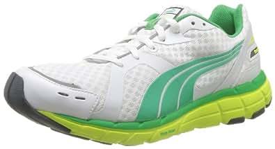 Puma  Faas 600,  Scarpe da corsa uomo Bianco Blanc (White/Yellow/Island Green) 40