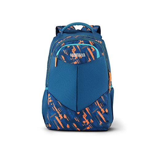 American Tourister Meso 30.5 Ltrs Teal Casual Backpack (Fi2 (0) 11 001)