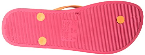 Raider anatomique, Tan Tongs Femme Ipanema, femme, Ipanema Anatomica Tan Pink/Orange