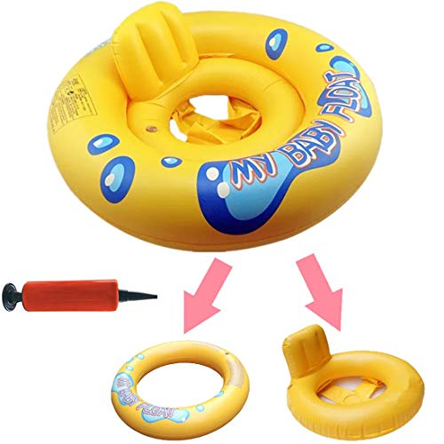 DOLYUU Baby Schwimmring,Baby Schwimmhilfe Baby Schwimmen Ring, Kleinkind Kinder Schwimmreifen Schwimmbad Schwimmring Aufblasbarer Kinder Schwimmring.