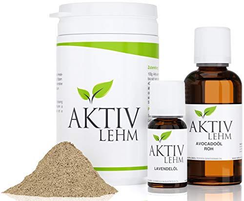 Mittel gegen Akne, Pickel, Mitesser und unreine Haut | AktivLehm Komplettpaket