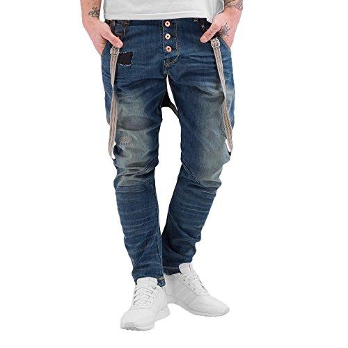VSCT Clubwear Herren Jeans / Antifit Ben Twisted Blau