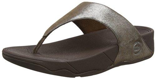 012 Femme Sandales Brown Lulu Plateforme Bronze Fitflop Shimmersuede wRw4qWPr8