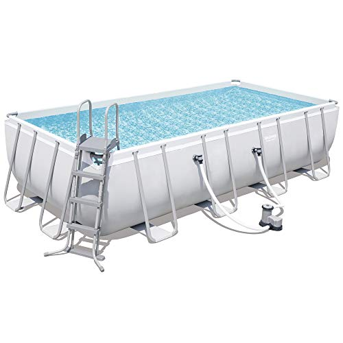 Bestway Pool Power Steel(TM) Stahlrahmen-Pool-Set 549 x 274 x 122 cm + Zubehör