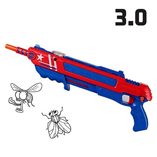 qsnyq QSYQ® Fly Gun Mosquito Modell Spielzeug Salt Gun Insekten Mörder Gewehr Bug Blow Gun Pfeffer Bullets Blaster Airsoft Insect Eradication Gun,Toy Salzpistole Bullets Pistole Spielzeug Im Freien