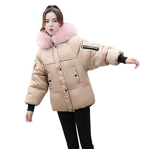 Darringls Navidad Chaqueta Mujer cálido,Abrigos Estampado de Leopardo Cárdigan Chaqueta cálido Manga Larga Parka Elegantes