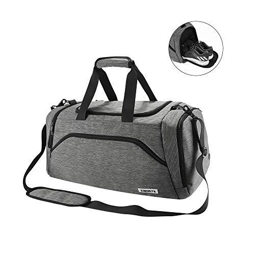 Speedsporting Sporttasche Frauen Männer Reisetasche Wasserdicht Fitnesstasche für männer mit Schuhfach Gym Fitness Tasche Sport Tasche Handgepäck Weekender Trainingstasche