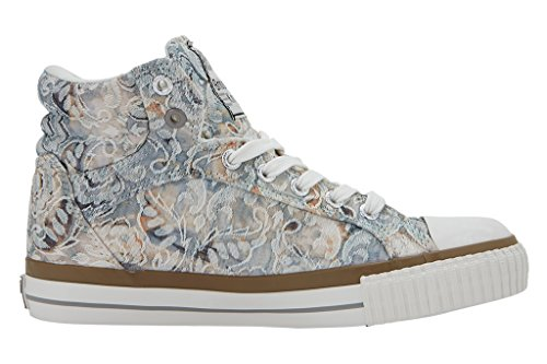 British Knights Dee, Baskets hautes femme Beige/gris