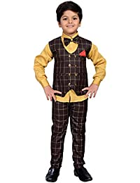 38f76a23fc837 Amazon.co.uk  Brown - Suits   Blazers   Boys  Clothing
