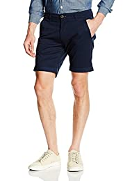 Mens Shhparis Dark Sap Linen Reg Shorts Selected