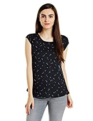 Levis Womens Body Blouse Shirt (34200-0001_Black_XS)