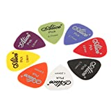 Best Guitar Picks - Imported Alice Nylon Standard Mixed Colors Guitar Picks Review