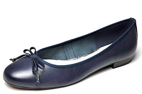 Marco Tozzi Fresh Navy Ballerine, Comfort, blu (Navy), 40