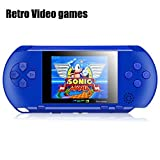 "Best Handheld Game Systems - Handheld Game Console, SZZHCKJ 2.7 ""LCD 16Bit Retro Review"