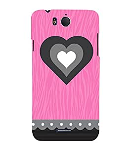 Vizagbeats inner love hearts Back Case Cover for Infocus M530
