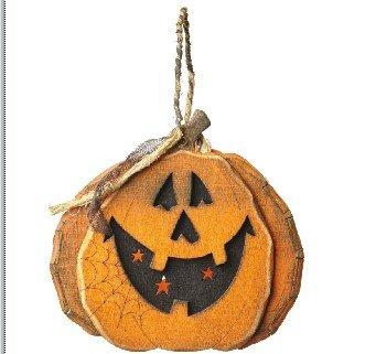 Heaven Sends Holz Trick or Treat Halloween Dekoration Korb (Körbe Or Treat Trick Halloween)