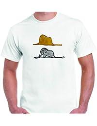 DrMugCollection Camiseta El Principito ¿Sombrero o Serpiente?
