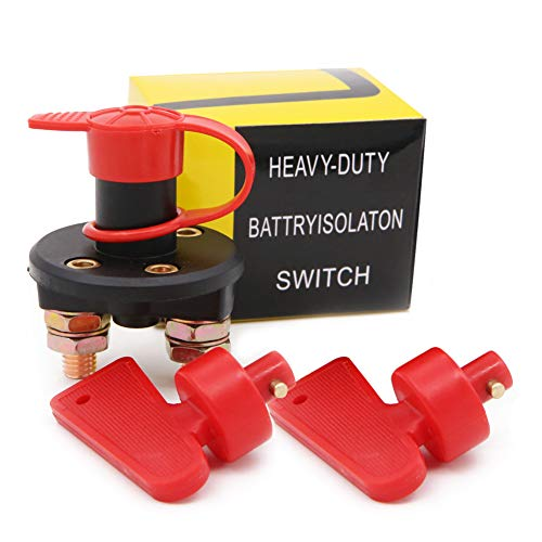 Batteria per auto Isolator Cut off interruttore, batteria Isolator Disconnect Cut off Power Kill switch per marine auto camper barca
