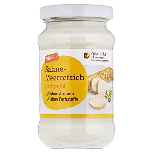 Tegut Sahne-Meerrettich, 190 g