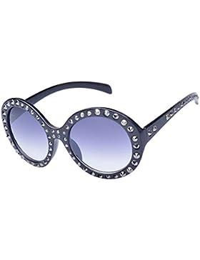 KUKI Gafas de sol remachadas para mujer , 1