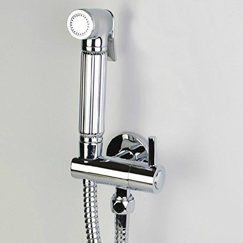 GFEI pleine de cuivre soupape pommeau de douche / toilettes coin spray spécial arme / booster valve