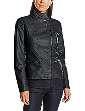 Only Onlfreya Faux Leather Biker Otw Noos - impermeable Mujer