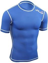 Sub Sports Kinder Dual Kompressionsshirt Funktionswäsche Base Layer kurzarm