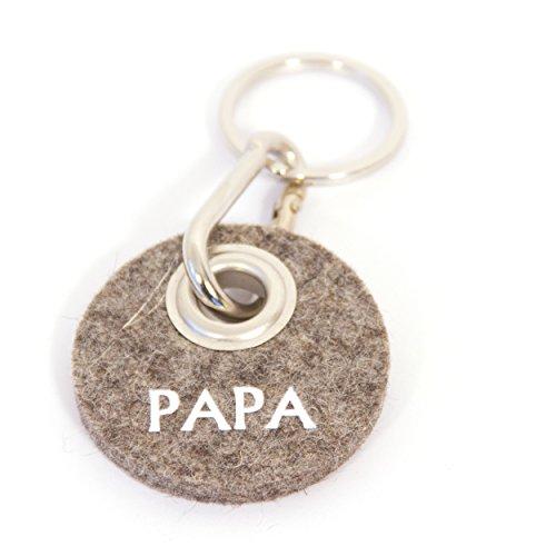 Preisvergleich Produktbild Metz, Schlüsselanhänger Filz - Rondo PAPA
