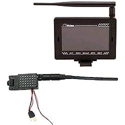 WLtoys Kit caméra FPV 5.8Ghz avec Moniteur vidéo TFT