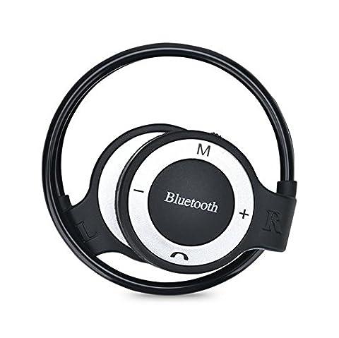 Drahtloser On-Ear Sport Kopfh?rer mit Hard Case Bluetooth Sport Kopfh?rer