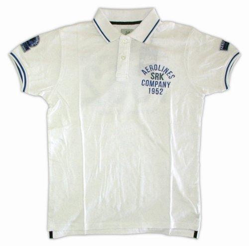 SRK Herren Poloshirt Weiß - weiß