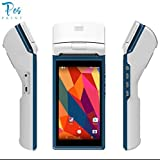 """Posprint, 5.5"""" Android 6.0 3G 1D 2D Barcode Scanner Wireless Payment System Handheld"""