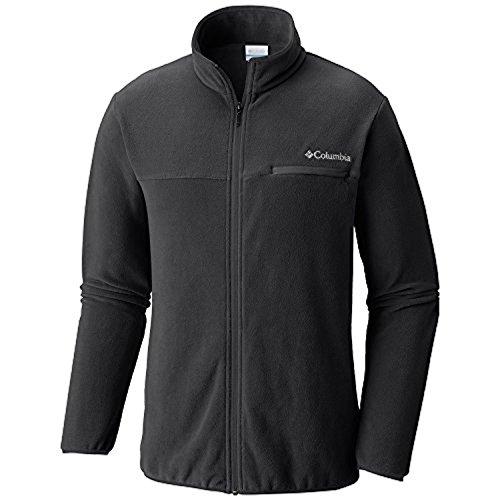 Columbia Men's Mountain Crest Full Zip Black/Shark Large